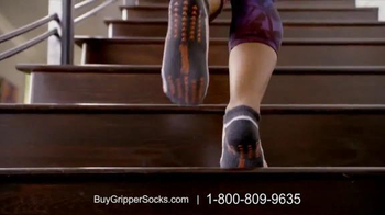 Copper Fit Gripper Socks TV Spot, 'Hardwood Floors' Featuring Ashley Judd