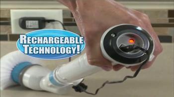 Hurricane Spin Scrubber TV Spot, 'Incredible Torque' - Thumbnail 4