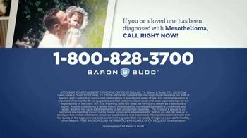 Baron & Budd, P.C. TV Spot, 'Mesothelioma Diagnosis' - Thumbnail 4