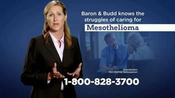 Baron & Budd, P.C. TV Spot, 'Mesothelioma Diagnosis' - Thumbnail 3