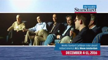 Weekly Standard TV Spot, '2016 Caribbean Cruise' - 22 commercial airings