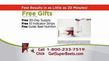 SuperBeets TV Spot, 'All Day Energy' - Thumbnail 8