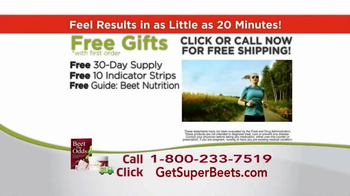 SuperBeets TV Spot, 'All Day Energy' - Thumbnail 9