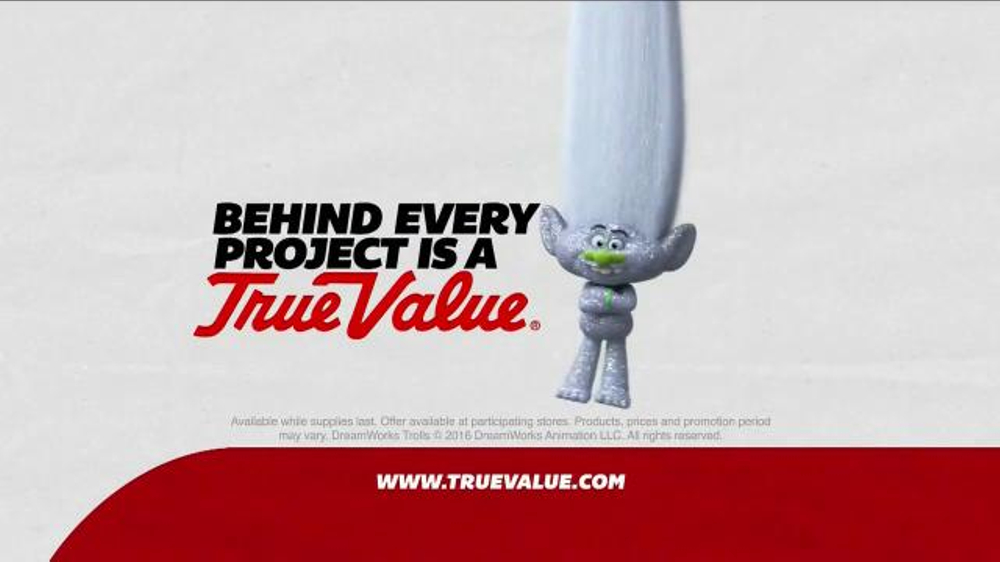 True Value Hardware TV Commercial, 'Trolls: Value of Finding Your True Colors'