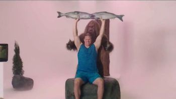 Jack Link's TV Spot, 'SasquatchWorkout: Pike Presses' Feat. Clay Matthews - 29 commercial airings