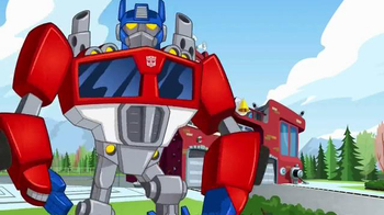 Transformers Rescue Bots Firehouse Headquarters TV Spot, 'Take Command' - Thumbnail 1