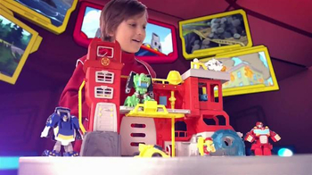 Transformers Rescue Bots Firehouse Headquarters TV Spot, 'Take Command'