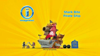 Imaginext Shark Bite Pirate Ship TV Spot, 'Big Bite' - Thumbnail 5