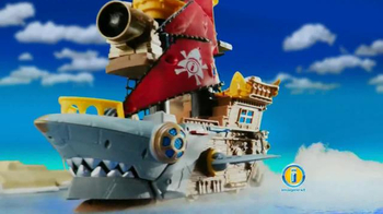 Imaginext Shark Bite Pirate Ship TV Spot, 'Big Bite' - Thumbnail 3