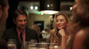 Secrets Resorts TV Spot, 'Make a Secret on Your Vacation' - Thumbnail 8