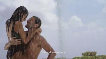 Secrets Resorts TV Spot, 'Make a Secret on Your Vacation' - Thumbnail 3
