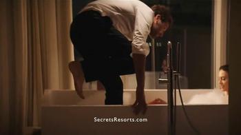 Secrets Resorts TV Spot, 'Make a Secret on Your Vacation' - Thumbnail 5