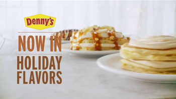 Denny's Holiday Pancakes TV Spot, 'To Share or Not to Share' - Thumbnail 10