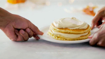 Denny's Holiday Pancakes TV Spot, 'To Share or Not to Share' - Thumbnail 7