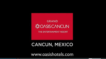 Grand Oasis Cancun TV Spot, 'Shows, Music, Clubs and More!' - Thumbnail 7