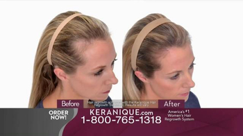 Keranique TV Spot, \'Regrow Lost Hair\'