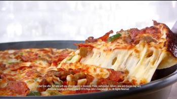 Papa John's Pan Pizza TV Spot, 'Smoke Machine' Featuring Peyton Manning - Thumbnail 9