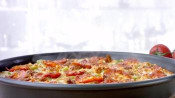 Papa John's Pan Pizza TV Spot, 'Thick, Cheesy, Golden Brown' - Thumbnail 3