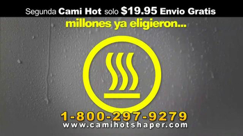 Hot Shapers Cami Hot TV Spot, 'Suda más' [Spanish] - Thumbnail 1