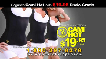 Hot Shapers Cami Hot TV Spot, 'Suda más' [Spanish]