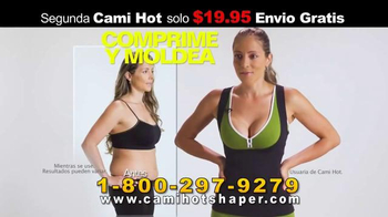 Hot Shapers Cami Hot TV Spot, 'Suda más' [Spanish] - Thumbnail 2
