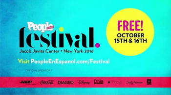People en Español TV Spot, '2016 People en Español Festival' - Thumbnail 4