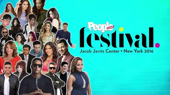 People en Español TV Spot, '2016 People en Español Festival' - 29 commercial airings