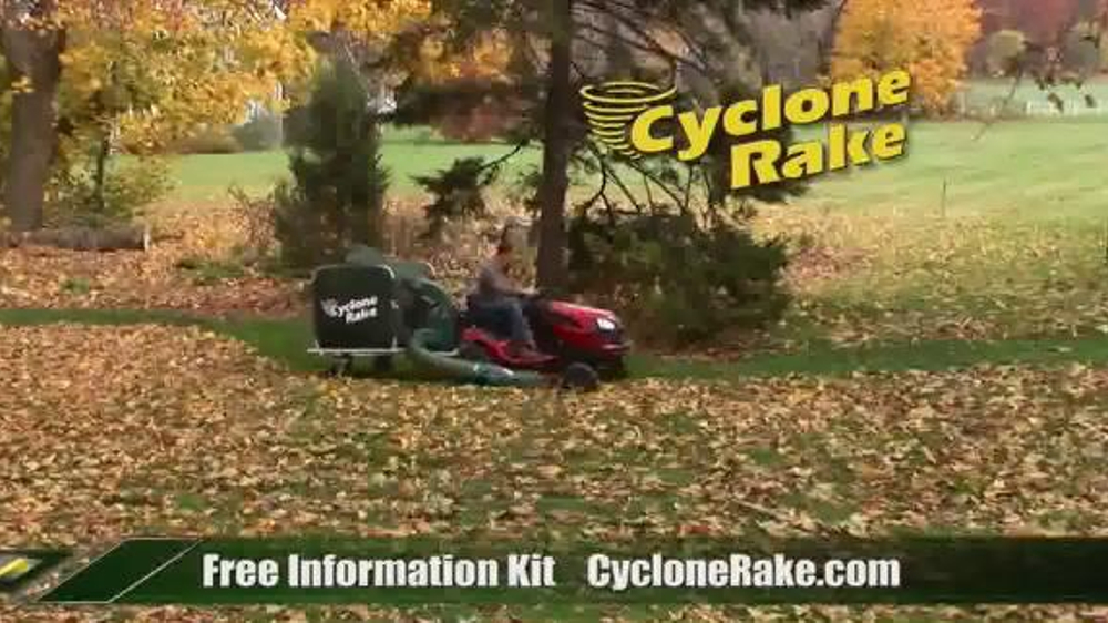 Cyclone Rake TV Commercial, 'End the Fall Cleanup Struggle'