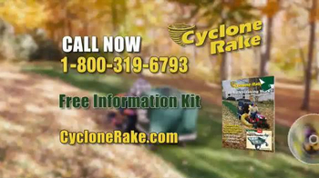 Cyclone Rake TV Spot, 'End the Fall Cleanup Struggle' - Thumbnail 9