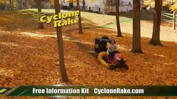 Cyclone Rake TV Spot, 'End the Fall Cleanup Struggle' - Thumbnail 3