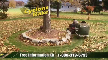 Cyclone Rake TV Spot, 'End the Fall Cleanup Struggle' - Thumbnail 4