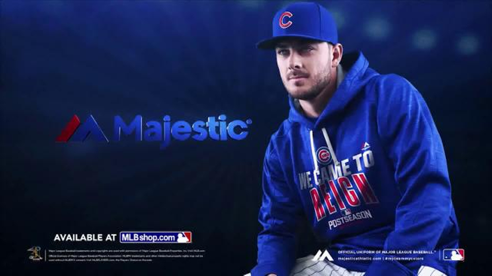 new arrival ea6f7 a8c81 MLB Shop Authentic Postseason Hoodie TV Commercial, 'Dugout' - Video