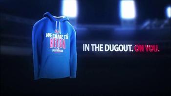 MLB Shop Authentic Postseason Hoodie TV Spot, 'Dugout' - Thumbnail 3