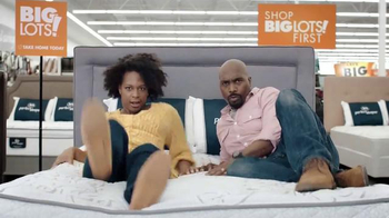 Big Lots Columbus Day Deals TV Spot, 'Find the Right Mattress'