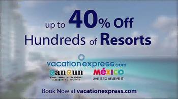 Vacation Express TV Spot, 'Newark to Cancun' - Thumbnail 7