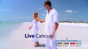 Vacation Express TV Spot, 'Newark to Cancun' - Thumbnail 2