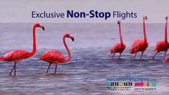 Vacation Express TV Spot, 'Newark to Cancun' - Thumbnail 5