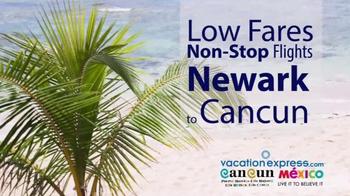 Vacation Express TV Spot, 'Newark to Cancun' - Thumbnail 6