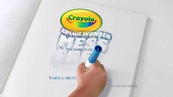 Crayola Color Wonder Coloring TV Spot, 'Life Can Be Messy' - Thumbnail 10