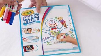 Crayola Color Wonder Coloring TV Spot, 'Life Can Be Messy' - Thumbnail 6