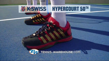 Tennis Warehouse TV Spot, 'K-Swiss: 50 Years of Tennis' - Thumbnail 8