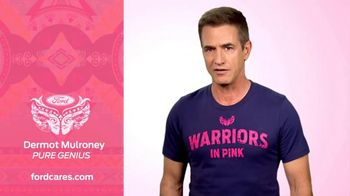 Ford Warriors in Pink TV Spot, 'Pure Genius' Featuring Dermot Mulroney - 3 commercial airings