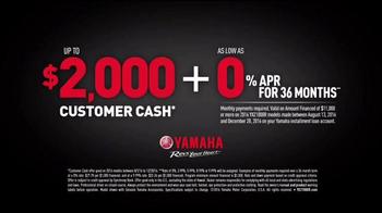 Yamaha YXZ1000R TV Spot, 'Unbeatable Performance' - Thumbnail 8