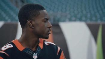 NFL Shop TV Spot, 'Earn This Jersey' Featuring A.J. Green - Thumbnail 6