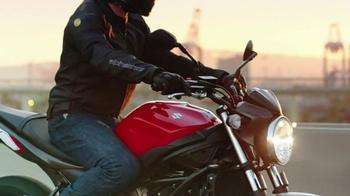 2017 Suzuki SV650 TV Spot, 'Undaunted' - Thumbnail 1