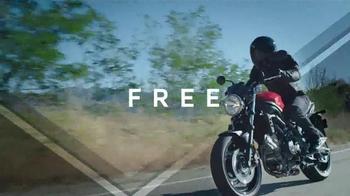 2017 Suzuki SV650 TV Spot, 'Undaunted' - Thumbnail 5