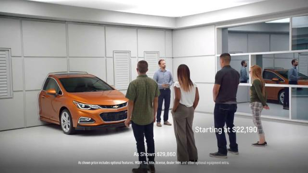 2017 Chevrolet Cruze Hatchback TV Commercial, 'Wall ...