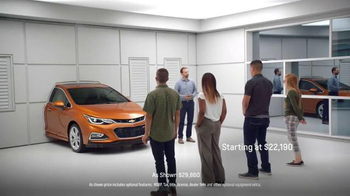 2017 Chevrolet Cruze Hatchback TV Spot, \'Wall\'