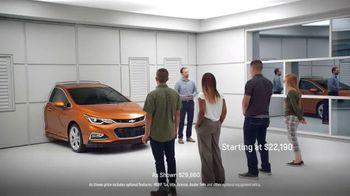 2017 Chevrolet Cruze Hatchback TV Spot, 'Wall' - 1801 commercial airings