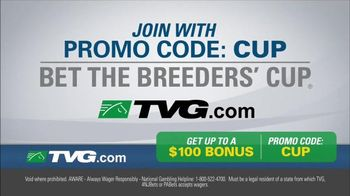 TVG Network TV Spot, 'Bet the Breeders' Cup'